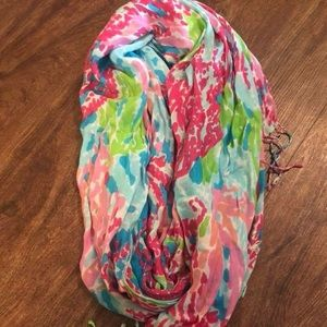 Lilly Pulitzer Let's Cha Cha Murfee scarf